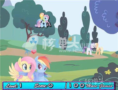 打字练习小游戏来了 可爱的小马拼音英文打字(2)
