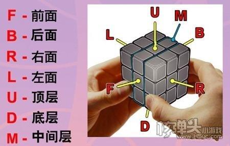 魔方教程小游戏 魔方教程一步一步公式图解