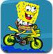 海绵宝宝海底自行车