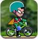 超能小子自行车表演