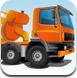运输水泥大卡车