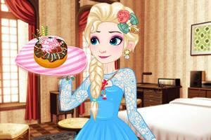艾莎的可爱甜甜圈