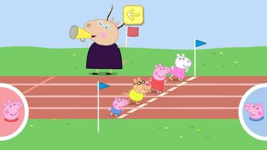 小猪佩奇运动会