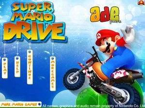 超级马里奥骑摩托
