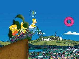 辛普森自行车竞赛关卡全开版