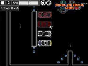 线型汽车停车2