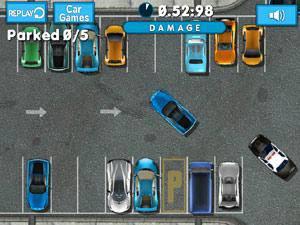 超级跑车计时停车