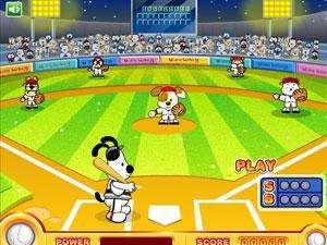 史努比打棒球