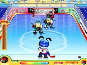 史努比打冰球