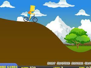 辛普森骑自行车