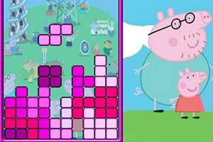 粉红小猪俄罗斯方块