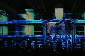 《风暴英雄》全球庆典3D立体投影惊爆眼球