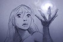 光辉女郎拉克丝动画短片:《束光》