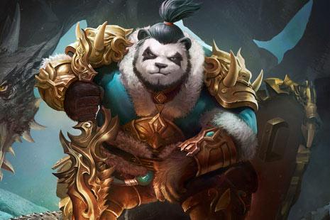 太极熊猫3猎龙壁纸分享 蜗牛游戏对立融汇