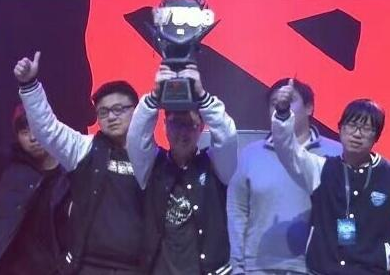 中国大学战队夺WUCG《DOTA2》全球总冠军