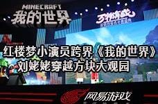 <b>红楼梦小演员跨界《我的世界》 穿越方块大观园</b>