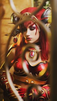 《魔兽》红龙女王cos