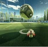 火箭联盟碰不到球?来学运球技巧