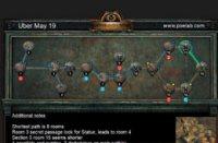 5月19日终极迷宫地图 最短8房间可6钥匙