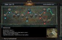 6月10日终极迷宫地图 最短8房间可6钥匙