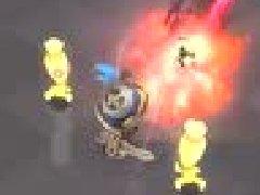冒险岛2骑士42级技能展示:扬盾重击