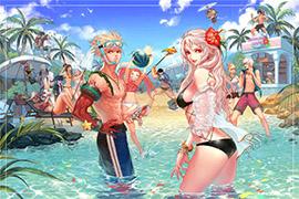 DNF夏日清凉泳装性感美图 让开我要舔屏了
