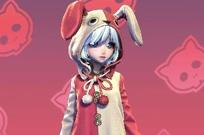 激萌兔子时装睡衣