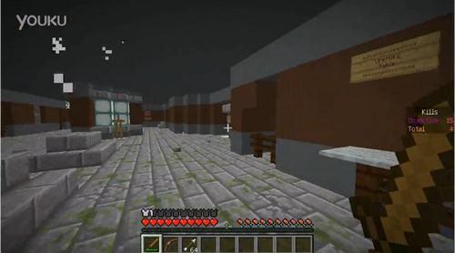 我的世界minecraft 僵尸世界村民幸存者