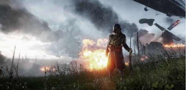 《战地1》瞄准线模式公布 狙击手伤害致命