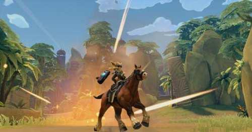 枪火游侠游戏CG截图 游戏精美场景截图欣赏
