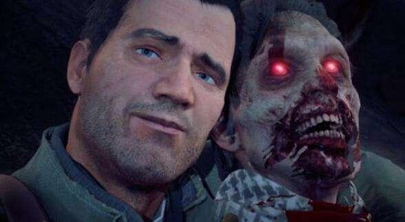 《丧尸围城4》恶搞视频 主角与血腥丧尸合影