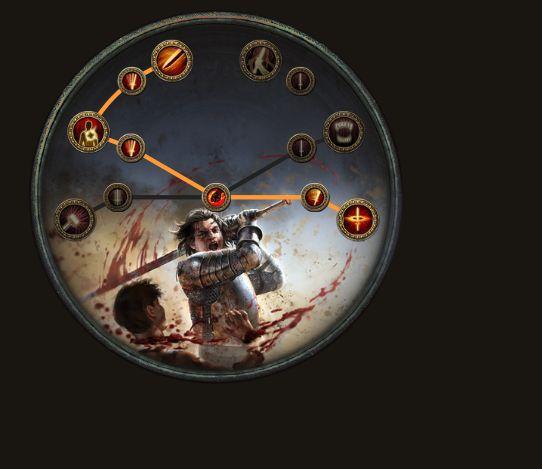 野蛮人决斗者通用BD 血量必中毒血刀刃乱舞
