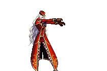 DNF女枪手模型 渔网帝国红风格