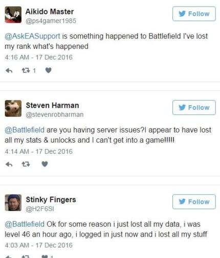 一夜回到解放前《战地1》玩家线上存档被清零