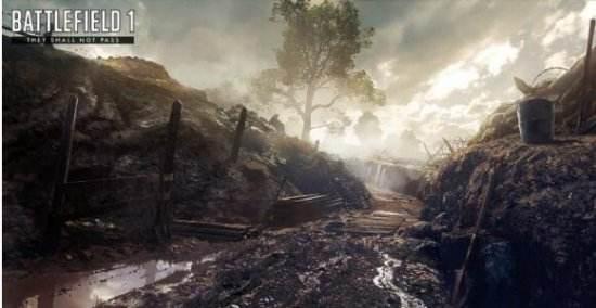 《战地1》新DLC将重现凡尔登战役 截图一览
