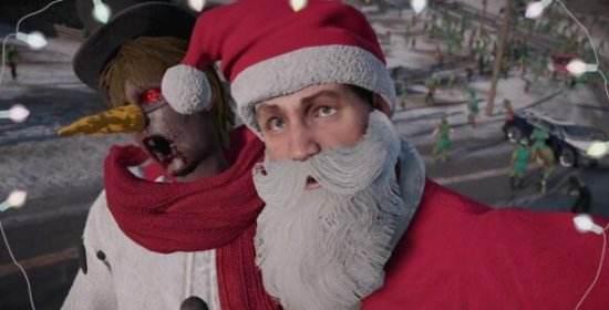 僵尸也过圣诞节《丧尸围城4》首个DLC发售