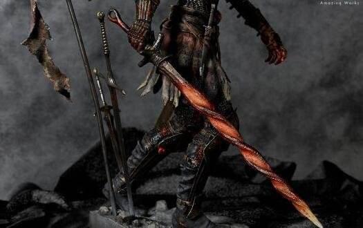 《黑暗之魂3》薪王化身手办开卖 售价三千