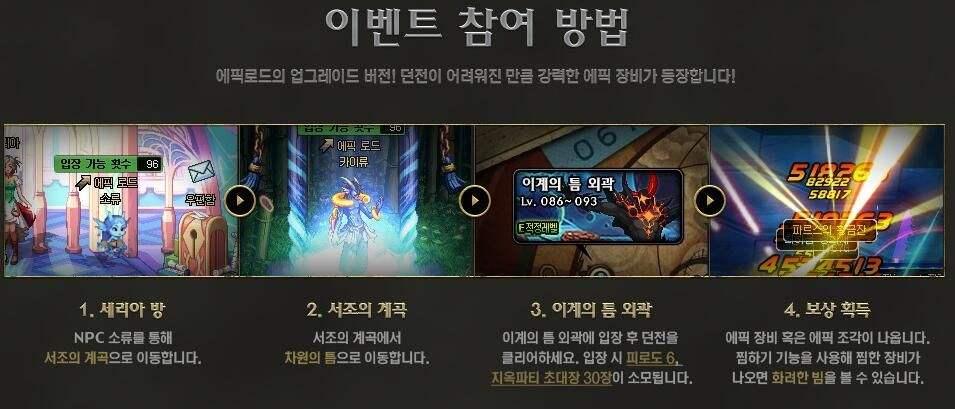 韩服新版史诗之路开放 副本可出90级史诗