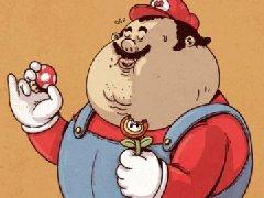 【囧图】一胖毁所有 当经典动漫人物变胖之后