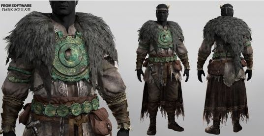 《黑暗之魂3》逼真高清怪物角色模型赏