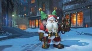 守望先锋圣诞节皮肤 圣诞老人托比昂