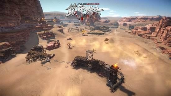 《铁甲雄兵》戎马征战赛开启 多方强者战场对峙
