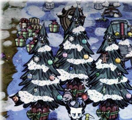 饥荒联机版圣诞节活动boss怎么打 用代码解决它