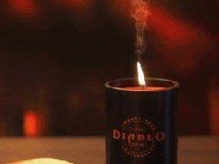 """奈""""欧""""天福利:赢取暗黑二十周年纪念蜡烛"""