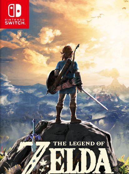 《塞尔达传说:荒野之息》公布欧版封面图