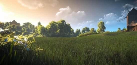 《巫师3》超级光照Mod新演示 唯美如仙境