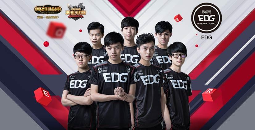 新赛季EDG阵容