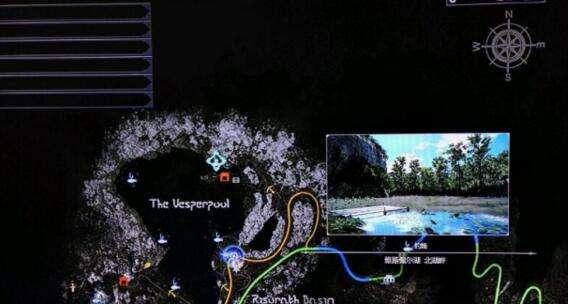 最终幻想15维斯佩尔湖隐藏钓鱼点图文解说