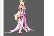 女鬼剑模型剑豪无时装改粉色天空8套效果