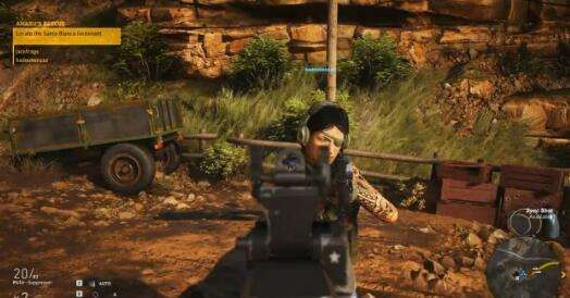 《幽灵行动:荒野》B测感受 Bug多任务重复